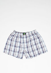 Boxershorts Plaid blue/white