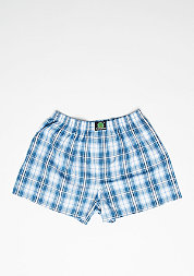 Boxershorts Plaid d.blue/l.blue/white