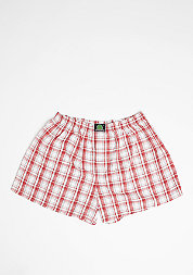 Boxershort Plaid red/white