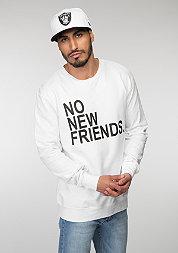 No New Friends white