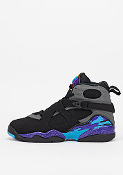 Basketballschuh Air Jordan 8 Retro BG black/t.red/f.grey