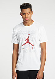 T-Shirt Jumpman Ele Camo Dri-Fit white/gym red