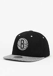 Strapback-Cap Heather Melton Visor NBA Brooklyn Nets