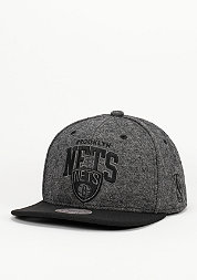 Snapback-Cap Compound NBA Brookyln Nets black