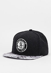 Snapback-Cap Volcano Ash NBA Brooklyn Nets charcoal