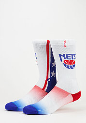 Fashionsocke NBA New Jersey Nets white
