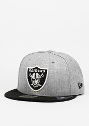 Fitted-Cap Heather Contrast NFL Oakland Raiders