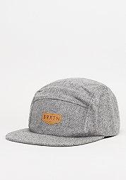 5-Panel-Cap Haft heather grey
