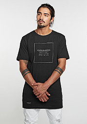 T-Shirt Always On Top Long black/whit