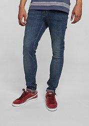 Jeans Tight indigo bleed