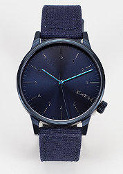 Uhr Winston Heritage monotone blue