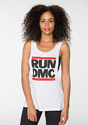 Run DMC Logo white