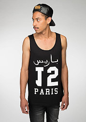 Tanktop Paris 15 black