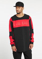 Longsleeve Tabit black/red