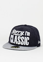 Fitted-Cap Sorry I'm Classic navy
