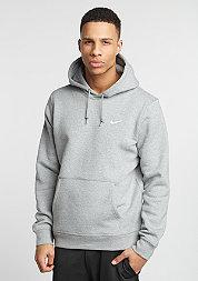 Hooded-Sweatshirt Club Swoosh dark grey/white