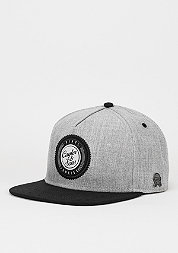 Snapback-Cap CL Vinyl grey/black