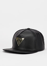 Snapback-Cap Solid black/gold