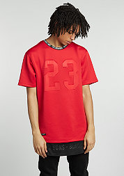 T-Shirt BL Legend Long red/black/white