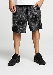 C&S BL Mesh Shorts Paiz black/white