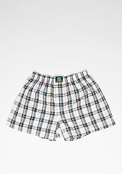 Boxershorts Plaid white/blue
