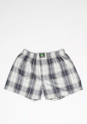 Boxershort Plaid grey/blue