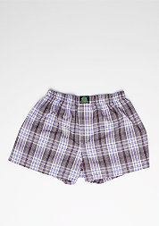 Boxershort Plaid bordeaux/lilac/white
