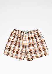 Boxershorts Plaid orange/blue