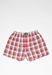 Boxershort Plaid red/white/blue