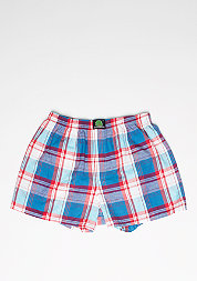 Boxershort Plaid dark blue/red/light blue