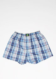 Boxershort Plaid dark blue/light blue/rose