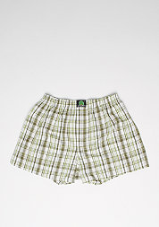 Boxershort Plaid dark green/light green/white