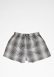 Boxershorts Plaid black/white