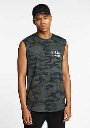 Tanktop Barracuda Sleeveless camouflage