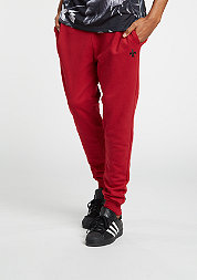Trainingshose Jogger Slim red/black