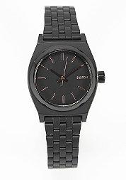 Horloge Small Time Teller all black/rose gold