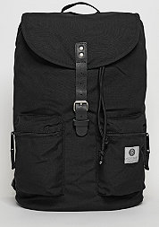 Rucksack Kay black/black leather
