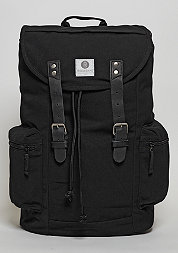 Rucksack Liam black/black leather
