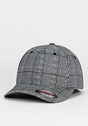 Baseball-Cap Glen Check black/white