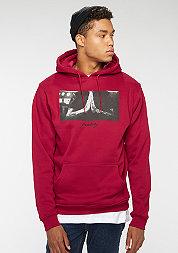 Hooded-Sweatshirt Pray ruby