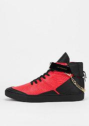 Schoen Hamachi vintage black/red python/gold