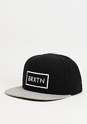 Rift black/light heather grey