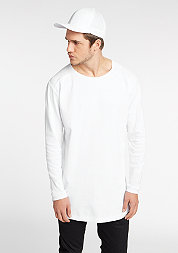 Longsleeve Long Shaped Waffle white