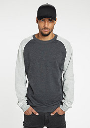 Sweatshirt Inside Out Terry charcoal/grey
