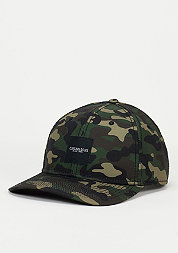 Snapback-Cap BL Curved Cap Legend woodland/black/off-white