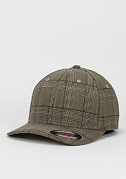 Baseball-Cap Glen Check brown/khaki