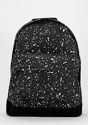 Rucksack Splattered black/white