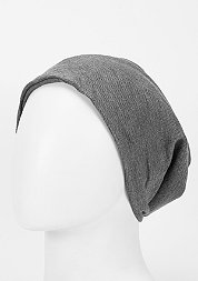 Beanie Rib 2 in 1 heather charcoal