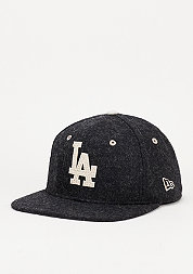 Snapback-Cap Felt Wool Snap MLB Los Angeles Dodgers black