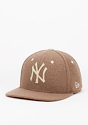 Snapback-Cap Felt Wool Snap MLB New York rust